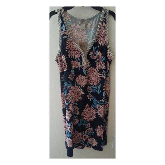 Lucky Brand Dresses & Skirts - LUCKY BRAND Floral Sleeveless Boho Dress